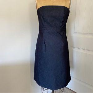Strapless Dark Denim Dress by Merona. Size 8.